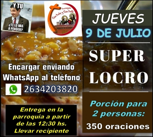 SUPER LOCRO 9 DE JULIO