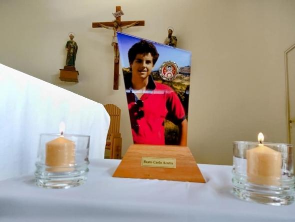 Visita de las reliquias del Beato Carlo Acutis a nuestra Parroquia