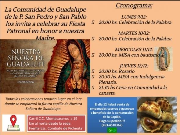 Fiesta Patronal Nuestra Señora de Guadalupe