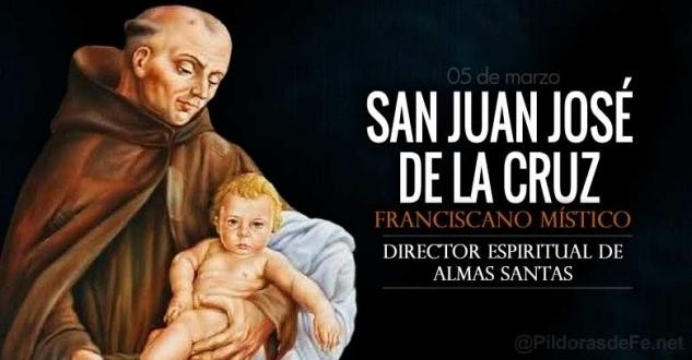 San Juan José de la Cruz. Franciscano místico y gran director espiritual