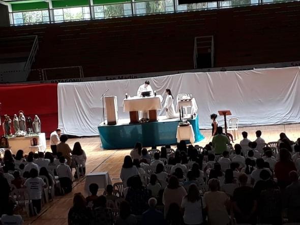 Solemne inicio del Año Mariano Nacional en la celebración de la Inmaculada Concepción.