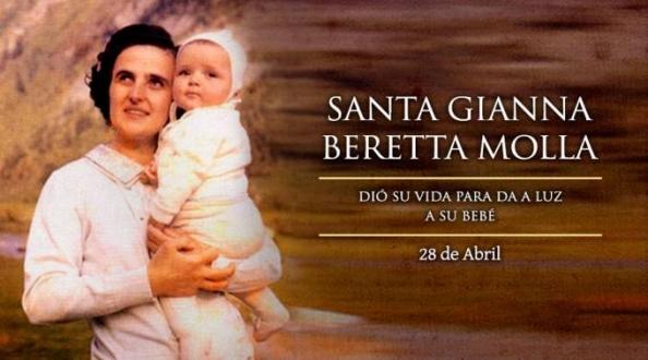 Hoy es la fiesta de Santa Gianna, patrona de las madres, médicos y niños por nacer