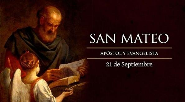 Hoy la Iglesia Católica celebra a San Mateo el Evangelista.