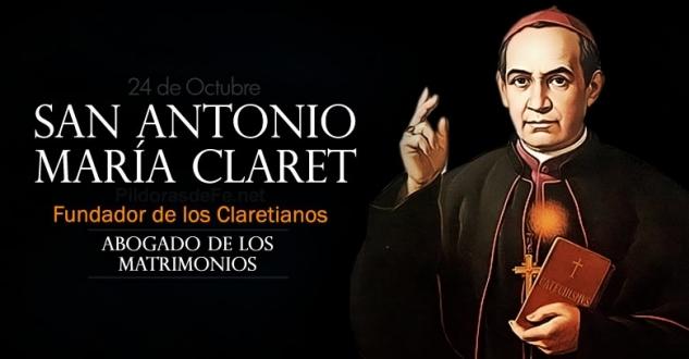San Antonio María Claret. Abogado de los matrimonios heridos