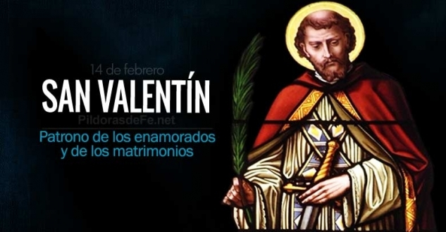 San Valentín. Patrono de los enamorados y de los matrimonios