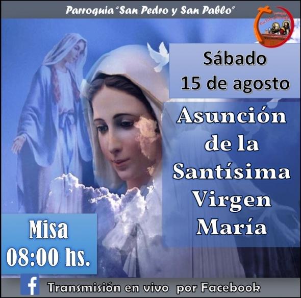 Asunción de la Santísima Virgen María