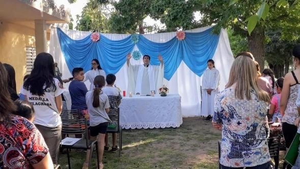 Fiesta Patronal en la Comunidad de
