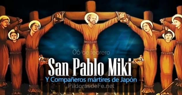 San Pablo Miki y compañeros mártires de Japón