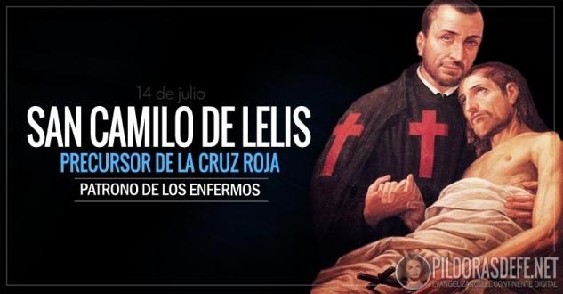 San Camilo de Lelis. Patrono de los enfermos. Precursor de la Cruz Roja