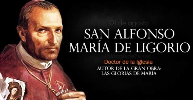 San Alfonso María de Ligorio. Patrono de los confesores y moralistas