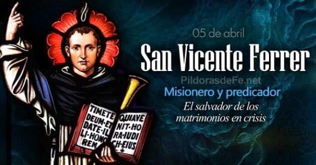 San Vicente Ferrer. El salvador de los matrimonios en crisis