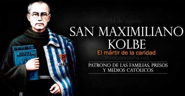 San Maximiliano Kolbe. Patrono de las familias, encarcelados y medios católicos