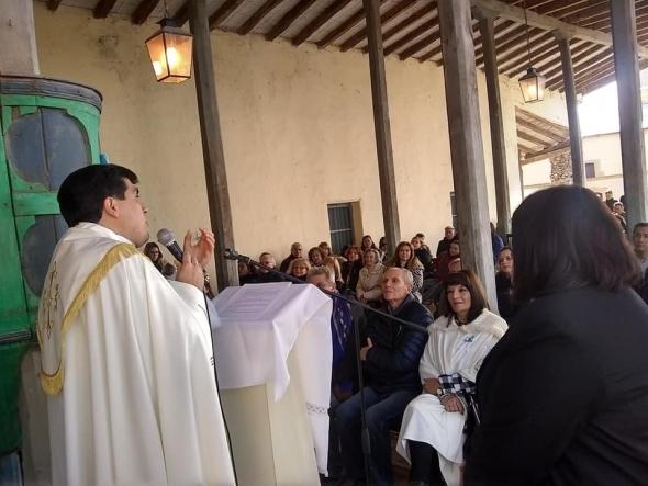 Cuarto Te Deum parroquial . En Oratorio de Salvador. Hermosa Mañana patriótica