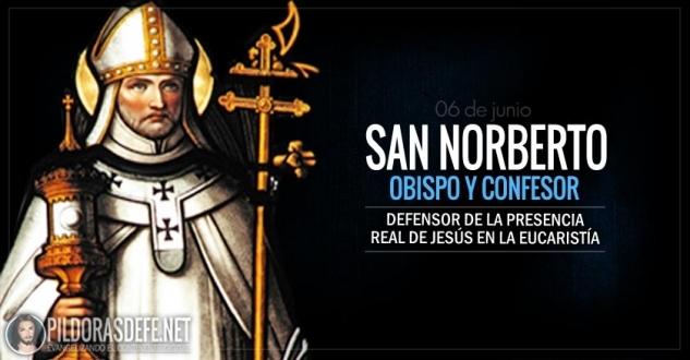 San Norberto. El defensor de la presencia real de Jesús en la Eucaristía