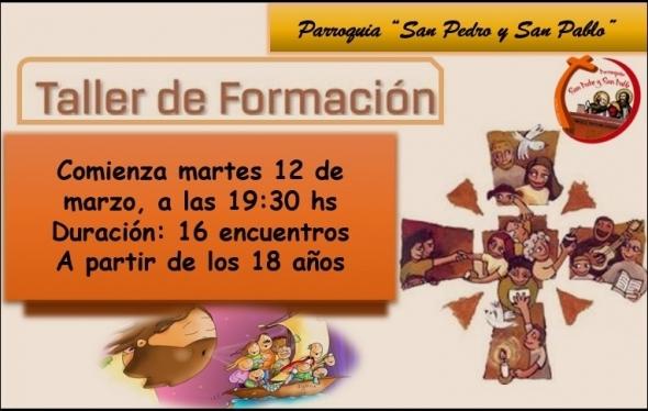 TALLER DE FORMACIÓN