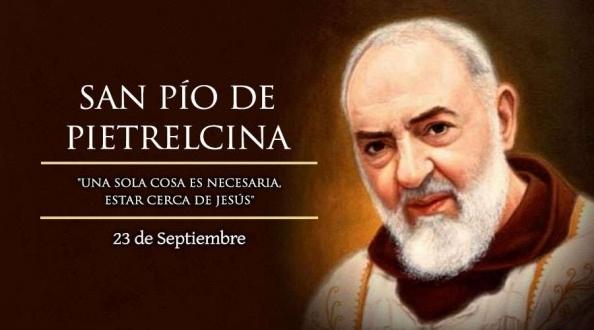 Hoy celebramos a San Pío de Pietrelcina, el sacerdote de los estigmas.