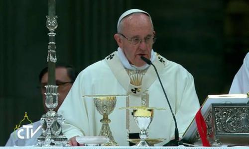 Papa Francisco clausura Año de la Vida Consagrada y recuerda misión de consagrados hoy