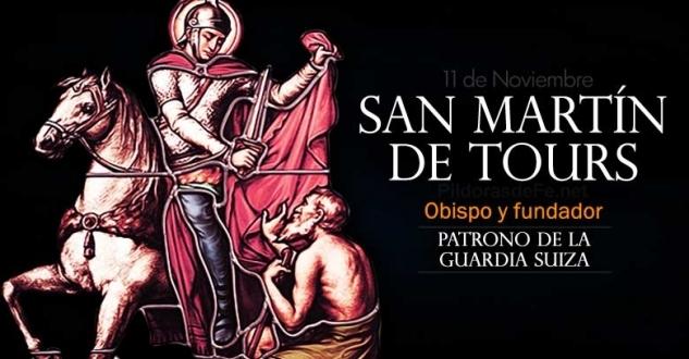 San Martín de Tours. Patrono de la Guardia Suiza del Vaticano
