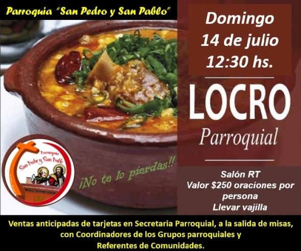 LOCRO  2019 -  PARROQUIA SAN PEDRO Y SAN PABLO.