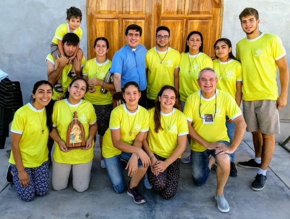 Comenzamos el último año de Misión en San Martín.