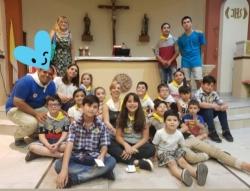Misa de cierre del año con entrega de Insignias de Infancia y Adolescencia Misionera en nuestra parroquia
