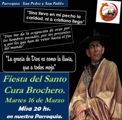 FIESTA DEL SANTO CURA BROCHERO