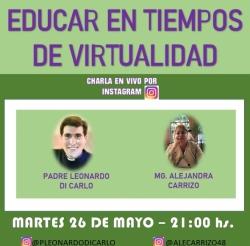EDUCAR EN TIEMPOS DE VIRTUALIDAD
