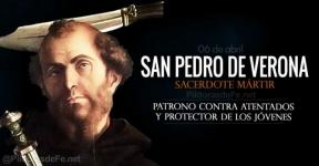 San Pedro de Verona. Patrono contra los atentados y protector de los jóvenes