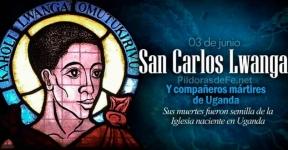 San Carlos Lwanga y Compañeros mártires de Uganda.