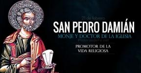 San Pedro Damián. Monje Benedictino y Doctor de la Iglesia