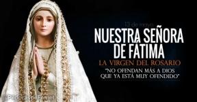 Nuestra Señora de Fátima. La Virgen del Rosario