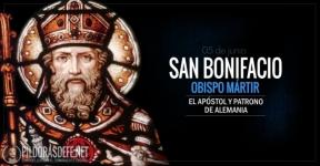 San Bonifacio. Obispo y mártir. El apóstol y patrono de Alemania.
