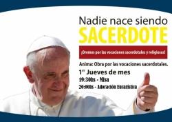 Oremos por las Vocaciones Sacerdotales y Religiosas.