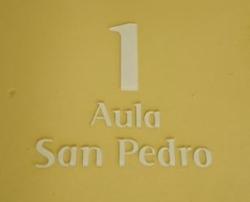 Nuevo orden de numeración de nuestras aulas y salones bajo la custodia de los santos.