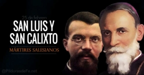 Santos Luis Versiglia y Calixto Caravario, mártires salesianos