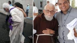 Sacerdote brasileño de 95 años recorre 6 kilómetros mientras confesaba