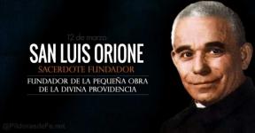 San Luis Orione. Fundador de la Pequeña Obra de la Divina Providencia