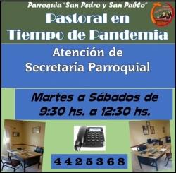 Nuevo Horario de Secretaría
