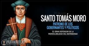 Santo Tomás Moro. El gran defensor de la indisolubilidad del matrimonio