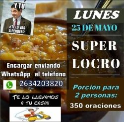 SUPER LOCRO 25 DE MAYO
