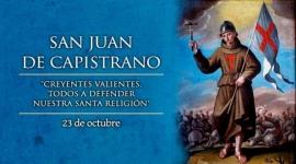 Hoy celebramos a San Juan de Capistrano, religioso y predicador franciscano.