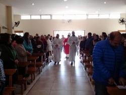 Santa Misa en el día de nuestros Santos Patronos.  Viva San Pedro y San Pablo!