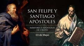 Hoy la Iglesia celebra a Santos apóstoles Felipe y Santiago