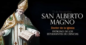 San Alberto Magno. Doctor de la Iglesia