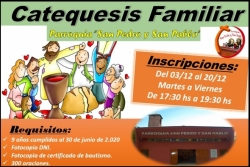 Catequesis Familiar - Inscripciones